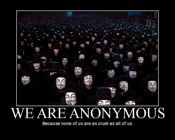 We Are Anonimous